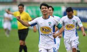 Công Phượng lọt vào Top 5 bàn thắng ở vòng 13 V-League 2018