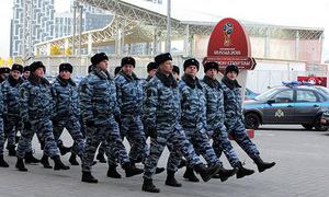 Nga diễn tập bảo vệ World Cup 2018 thế nào?