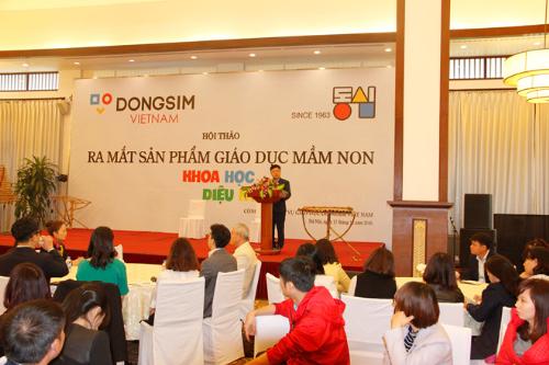 Dongsim Việt Nam ứng dụng chương trình học của Hàn Quốc cho giáo dục mầm non