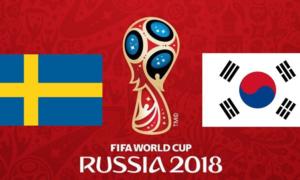 Thụy Điển 1-0 Hàn Quốc