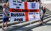 Cổ động viên World Cup Anh không quan tâm đến căng thẳng chính trị với Nga