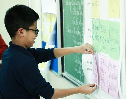 Các trường tư thục được quy định tổ chức kiểm tra đánh giá học sinh để tuyển sinh vào lớp 6 trong cùng 1-2 ngày. Ảnh: Trường Marie Curie.