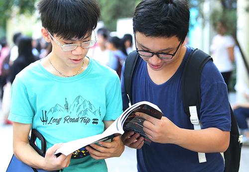 Khối chuyên tiếng Anh của Đại học Sư phạm Hà Nội có tỷ lệ chọi 1:35,5. Ảnh: Ngọc Thành.