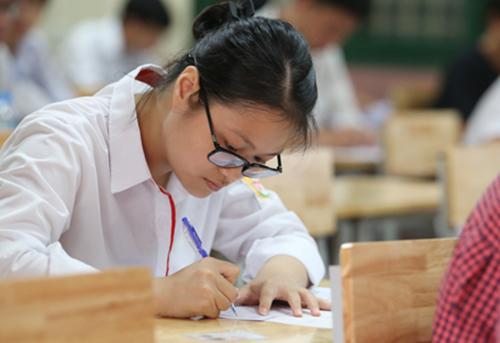 Tổng điểm bài thi THPT quốc gia sẽ được giữ nguyên điểm lẻ đến 2 chữ số thập phân. Ảnh minh hoạ.