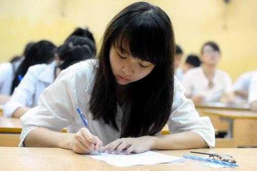 Mùa tuyển sinh năm 2018-2019, Sở Giáo dục và Đào tạo Hà Nội dự kiến có khoảng 100.000 thí sinh thi vào lớp 10 THPT, tăng22.000 em. Ảnh minh hoạ: Quý Đoàn.