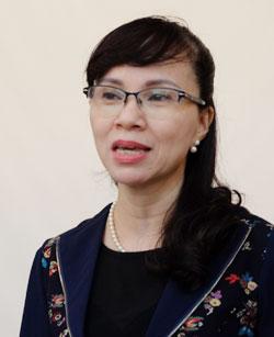 Vụ trưởng Giáo dục đại học (Bộ Giáo dục và Đào tạo) Nguyễn Thị Kim Phụng: Ảnh: Quỳnh Trang.