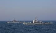 Trung Quốc lần đầu diễn tập chống thủy lôi