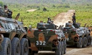 Trung Quốc viện trợ quân sự 130 triệu USD cho Campuchia