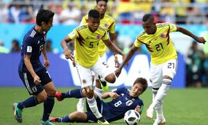 Colombia 1-2 Nhật Bản