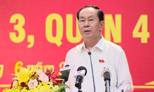 Chủ tịch nước: 'Luật An ninh mạng là yêu cầu cấp thiết'