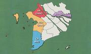 4 tỉnh sạt lở nghiêm trọng nhất đồng bằng sông Cửu Long