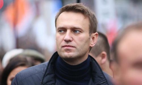 Thủ lĩnh đối lập Navalny trong một cuộc tuần hành năm 2016. Ảnh: AFP.
