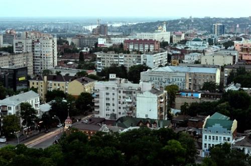Thành phốRostov on Don, nơi diễn ra trận đấu Brazil - Thụy Sĩ hôm 17/6. Ảnh: AFP.