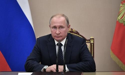 Tổng thống Nga Putin tại Moskva ngày 15/6. Ảnh: AFP.