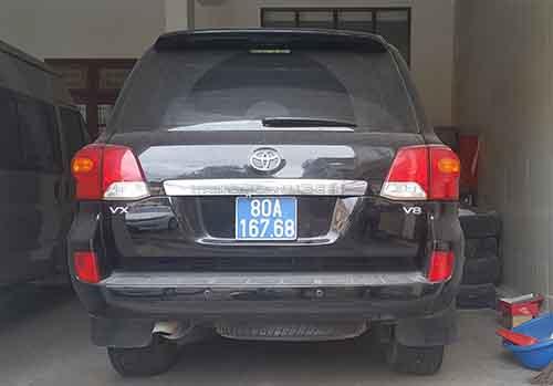 Chiếc Toyota Land Cruiser mà Nghệ An đã bán. Ảnh: Nguyễn Hải.