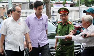 Ông Nguyễn Thiện Nhân: 'Tôi gặp cử tri Thủ Thiêm đến khi giải quyết xong vấn đề'