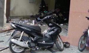 Nổ tại trụ sở công an phường ở TP HCM, một công an bị thương