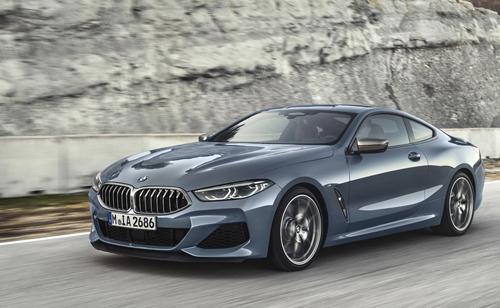 BMW serie 8 Coupe công bố giá bán tại Đức.