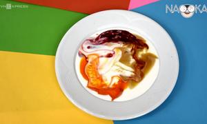 Làm thế nào để sữa tự vẽ tranh trên đĩa?