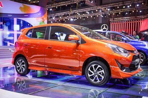 Toyota Wigo cạnh tranh ở phân khúc của Kia Morning, Hyundai i10.