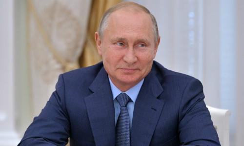 Tổng thống Nga Putin trong một cuộc họp ở Moskva ngày 20/6. Ảnh: AFP.