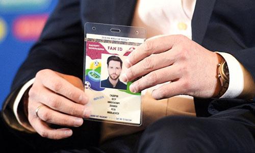 Nga chấp nhận thẻ cổ động viên (FAN ID) thay cho thị thực trong thời gian diễn ra World Cup. Ảnh: RIA.
