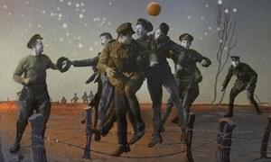 Tranh cãi về trận bóng trên chiến trường thời Thế chiến I