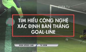 Công nghệ Goal-line xác định bàn thắng như thế nào?