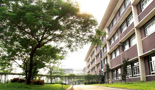Khuôn viên trường Đại học Quốc tế Miền Đông.