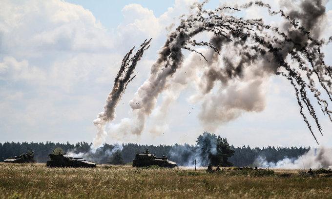 Cuộc tập trận của 18.000 lính NATO sát biên giới Nga