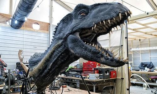 Đầu khủng long Indoraptor trong phimJurassic World: Fallen Kingdom. Ảnh: Pinterest.