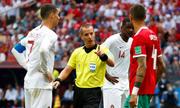 Nếu trá»ng tài xem lại VAR, Morocco sẽ thắng Bá» Äào Nha?