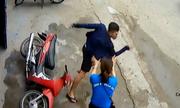 Cô gái rượt tên trá»m xe máy chạy trá»i chết