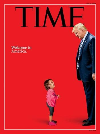 Ảnh bìa tạp chí Time tuần này. Ảnh: Time.