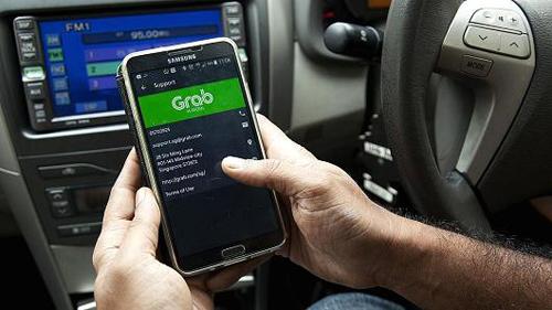 Grab muốn mở rộng dịch vụ Grab Taxi tại nhiều tỉnh thành. Ảnh minh họa: CNBC.