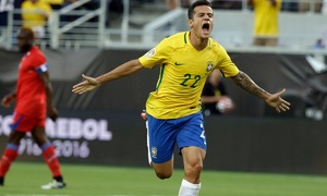 Philippe Coutinho cậu bé vàng từ đường phố Rio De Janeiro