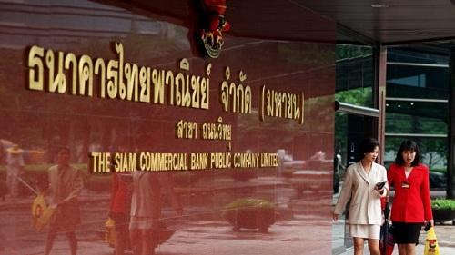 Ngân hàng thương mại Siam, một trong những ngân hàng lớn nhất Thái Lan. Ảnh: Reuters.