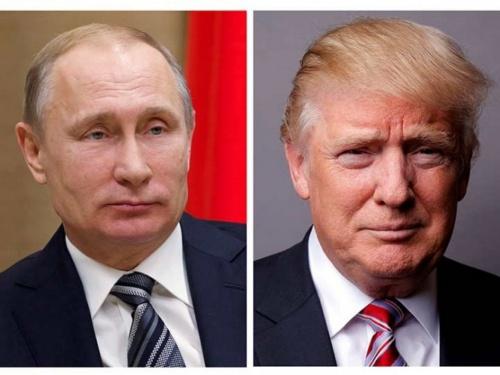 Tổng thống Nga Putin, trái, và người đồng cấp Mỹ Trump. Ảnh: Reuters.