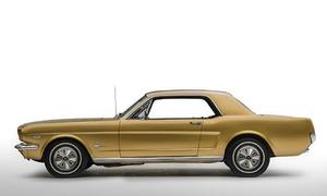Ford Mustang Gold Rush - 'ngựa hoang' phiên bản hoàng kim