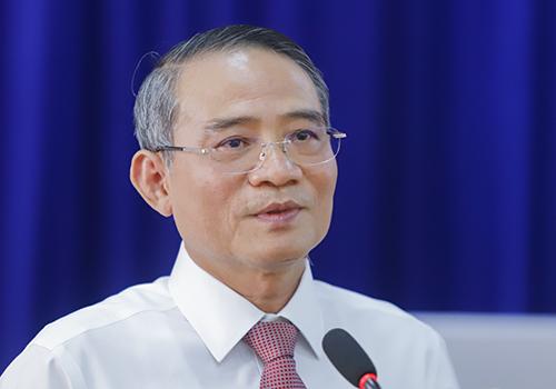 Bí thư Đà Nẵng Trương Quang Nghĩa cho rằng chống tham nhũng phải bắt đầu từ việc dân giám sát những người có chức, có quyền. Ảnh: Nguyễn Đông.