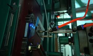 Hệ thống kiểm tra khóa cửa tự động sản xuất ở Việt Nam