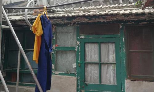 Nhà nằm trong một khu phố cổ ở Bắc Kinh, thuộc trung tâm thành phố. Ảnh: SCMP.