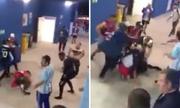 Cổ động viên Argentina bị bắt vì đánh nhau ở World Cup