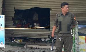 Cháy cửa hàng tạp hóa ven Sài Gòn, hai vợ chồng tử vong