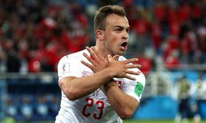 Thụy Sỹ 2-1 Serbia