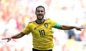 Bỉ 5-2 Tunisia