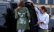 Phong cách thời trang từ chiếc áo gây tranh cãi của Melania Trump
