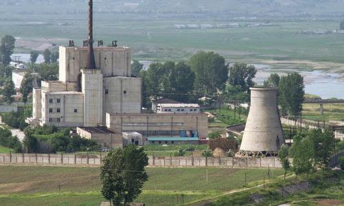Nhà máy hạt nhân Yongbyong của Triều Tiên hồi năm 2016. Ảnh: AFP.