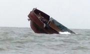 Tàu chở hàng Trung Quốc chìm trên biển Quảng Ninh