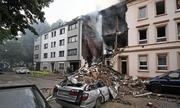 Nổ tòa nhà ở Đức, 25 người bị thương